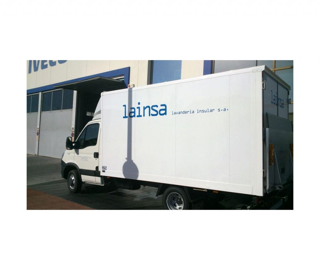 Camión Lainsa - estudio gráfico deBase