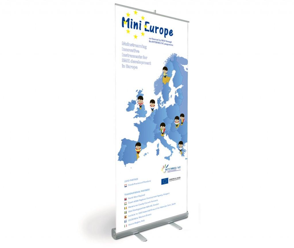 Mini Europe - estudio gráfico deBase