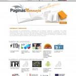 Landingpage páginas naranja